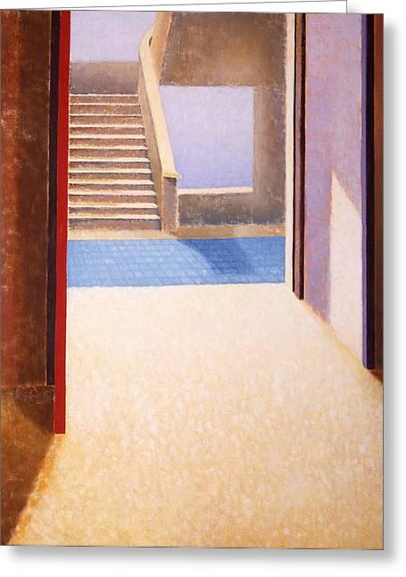 The Open Door Greeting Card by Gloria Cigolini-DePietro