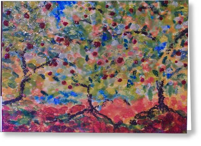 The Orchard Greeting Card by Karla Phlypo-Price