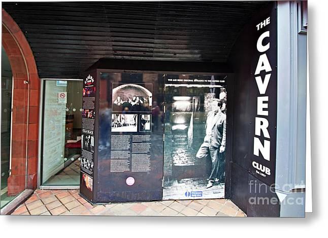 the original Cavern Club Greeting Card