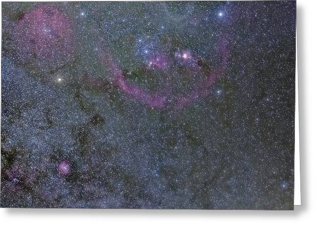 The Orion Complex Greeting Card by Charles Warren