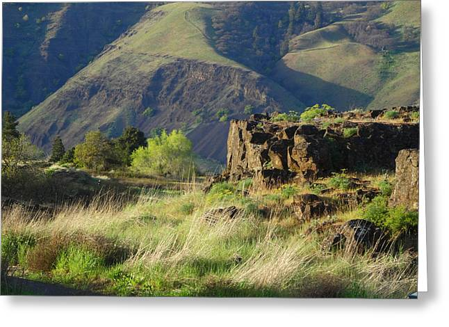The Outcrop Greeting Card