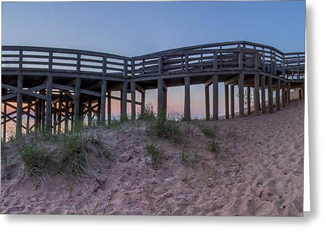 The Overlook At Sleeping Bear Dunes Greeting Card by Twenty Two North Photography