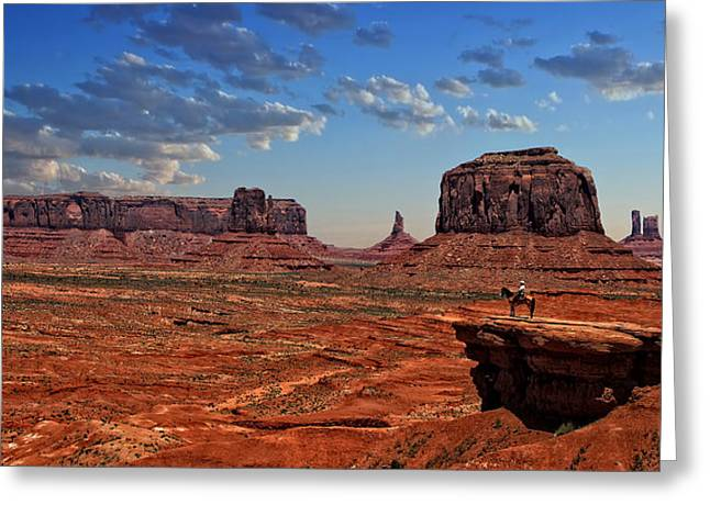 The Overlook Greeting Card by Ken Smith