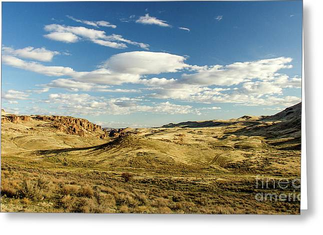 The Owyhee Desert Idaho Journey Landscape Photography By Kaylyn Franks  Greeting Card