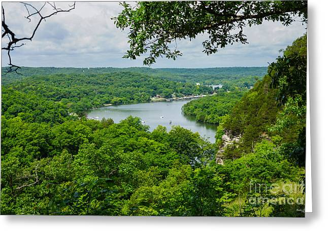 The Ozarks Greeting Card