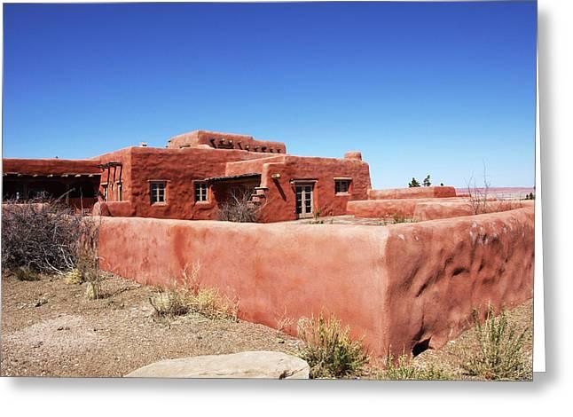 The Painted Desert Inn Greeting Card