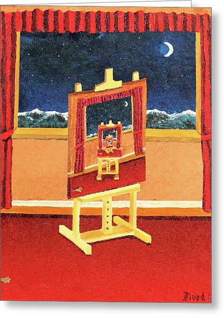 The Paintings Within Greeting Card