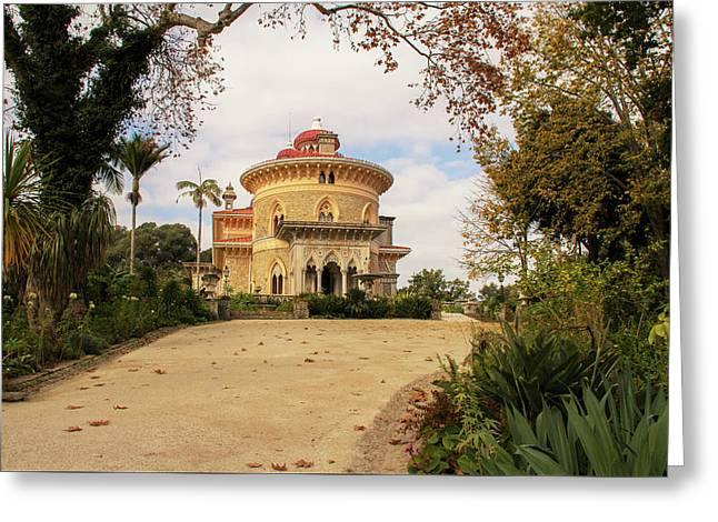 The Palace Of Monserrate Portugal Greeting Card by Christopher Cosgrove