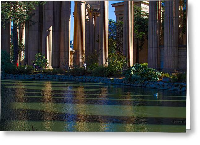 The Palace Pond Greeting Card