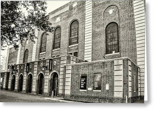 The Palesta - University Of Pennsylvania In Sepia Greeting Card