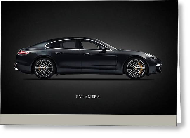 The Panamera Greeting Card