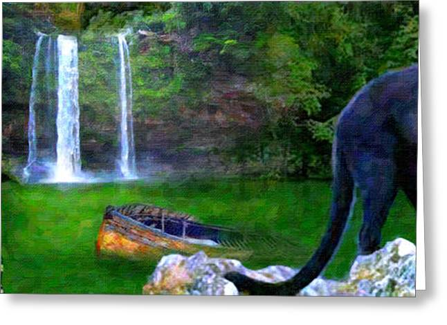 The Panther Greeting Card