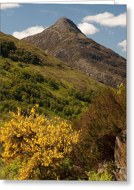 The Pap Of Glencoe Greeting Card
