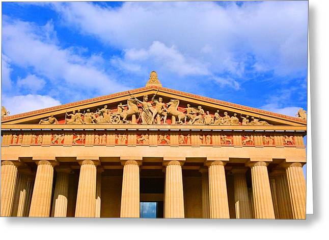 The Parthenon In Nashville Tennessee  Greeting Card
