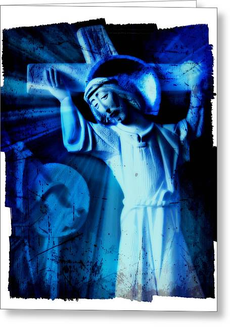The Passion Of Christ Xi Greeting Card by Aurelio Zucco