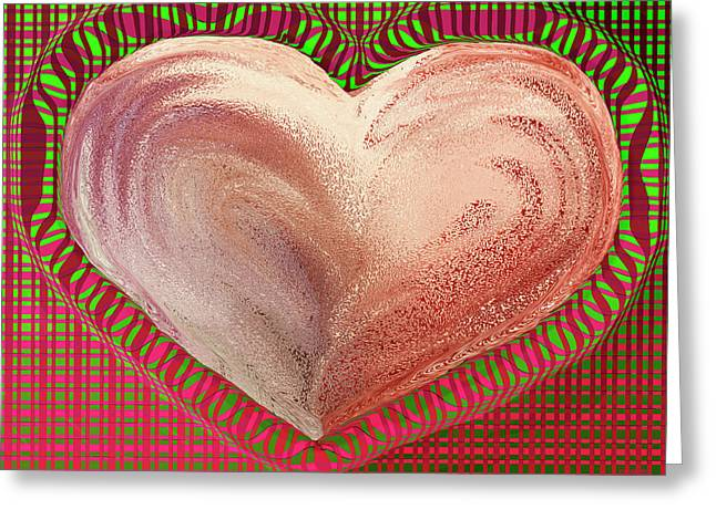 The Passionate Heart Greeting Card