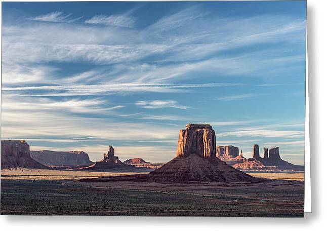 The Past Greeting Card by Jon Glaser