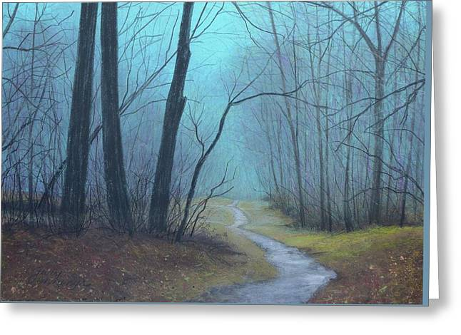 The Path Ahead Greeting Card
