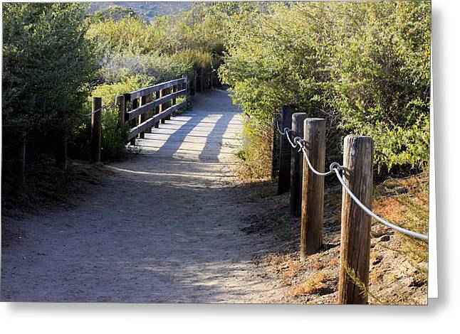 Greeting Card featuring the photograph The Path by Ivete Basso Photography