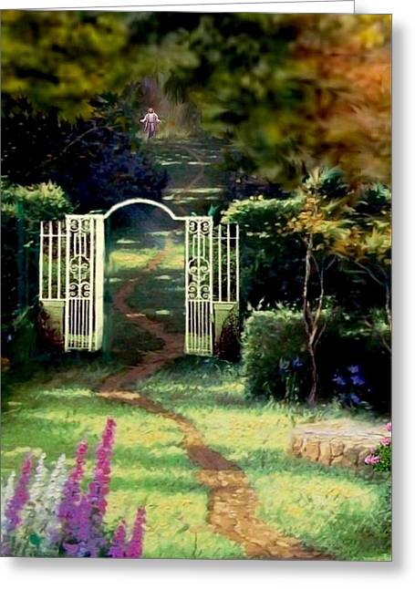 The Path Least Followed Seg 1 Greeting Card by Ron Chambers