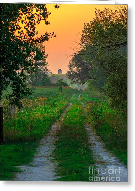 The Path We Follow Greeting Card
