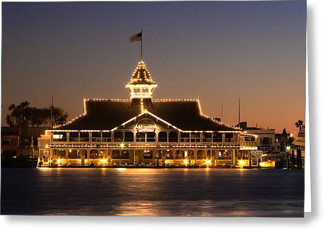 The Pavilion Greeting Card by Charlie Hunt