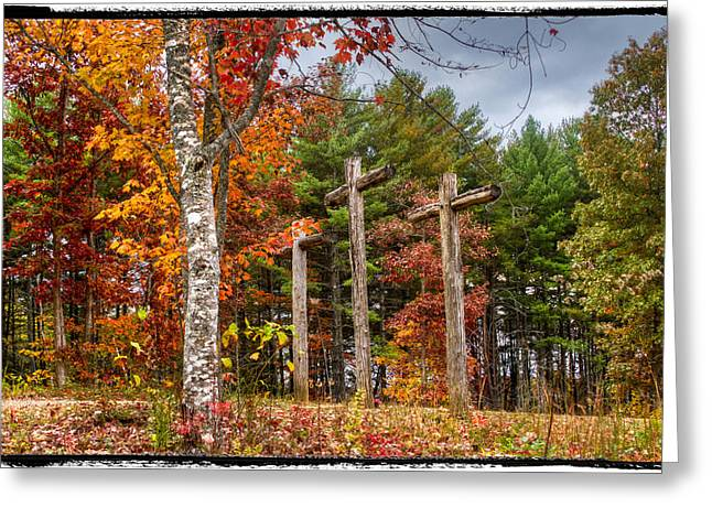 Large Photos Greeting Cards - The Peace that passes all understanding Greeting Card by Debra and Dave Vanderlaan