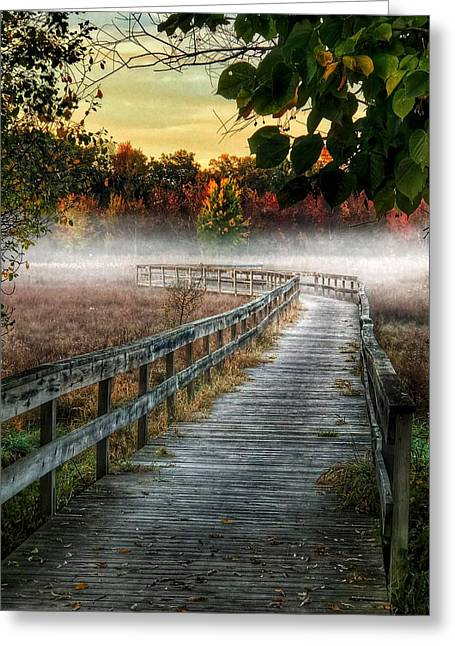 The Peaceful Path Greeting Card