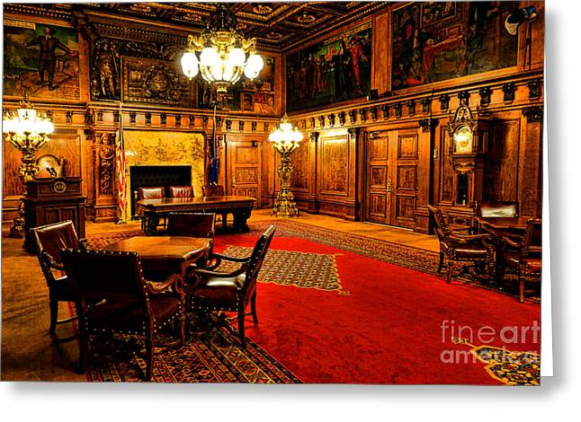 The Pennsylvania Governor Office Greeting Card by Olivier Le Queinec