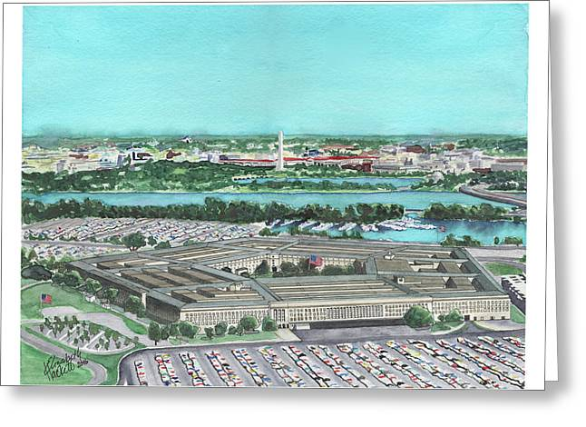 The Pentagon Greeting Card