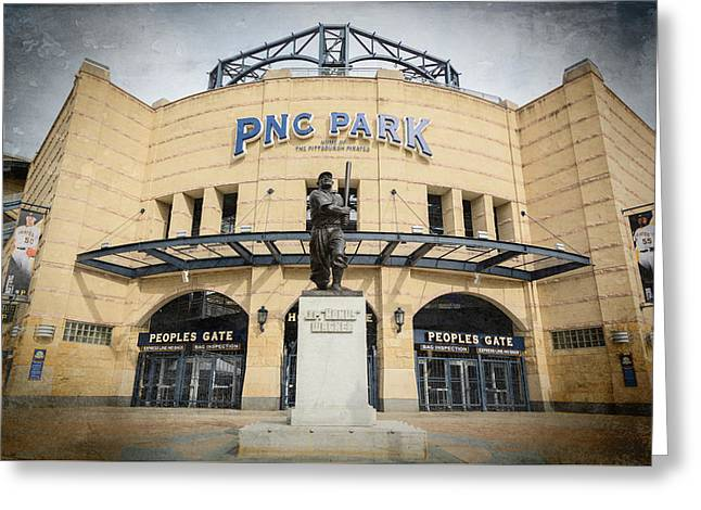 The Peoples Gate - Pnc Park #2 Greeting Card