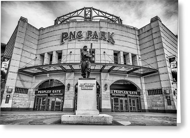 The Peoples Gate - Pnc Park #3 Greeting Card