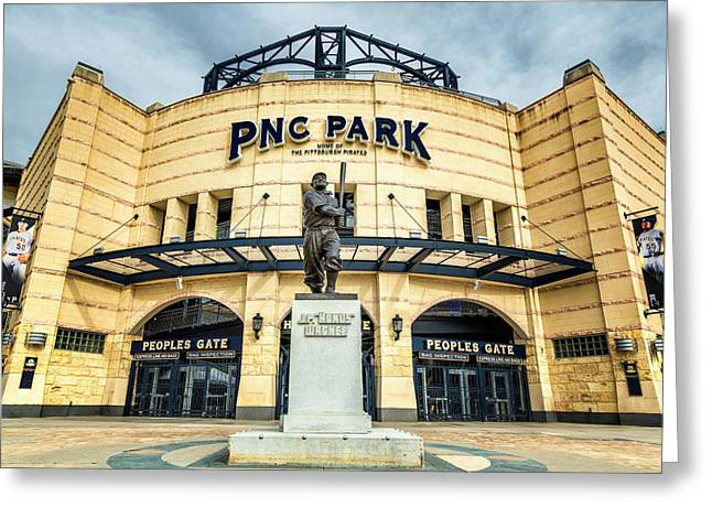 The Peoples Gate - Pnc Park #4 Greeting Card