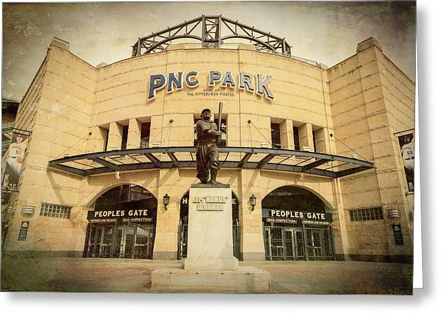 The Peoples Gate - Pnc Park Greeting Card