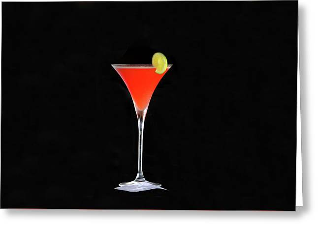 Greeting Card featuring the photograph The Perfect Drink by David Lee Thompson