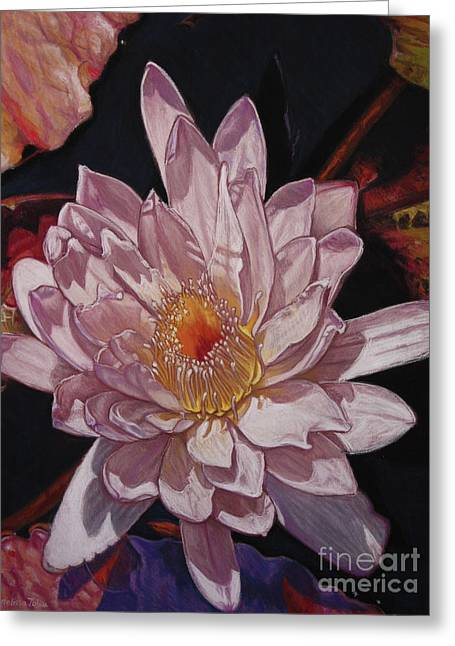 The Perfect Lily Greeting Card by Melissa Tobia