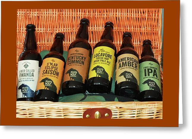 A Perfect Picnic Basket From Bray, Ireland Greeting Card by Poet's Eye