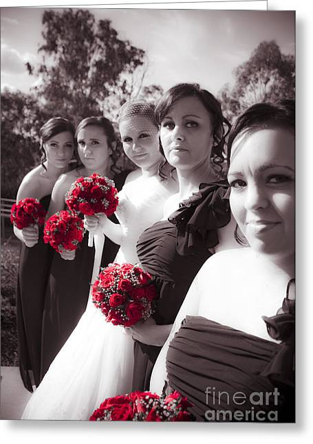 The Perfect Wedding Bouquets Greeting Card by Jorgo Photography - Wall Art Gallery