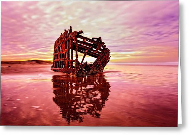 Peter Iredale Fantasy Greeting Card