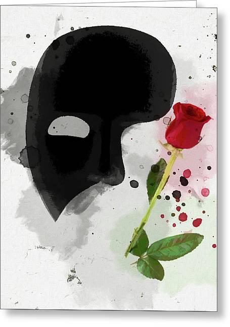 The Phantom Of The Opera Greeting Card
