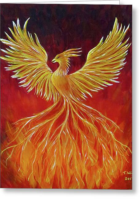 The Phoenix Greeting Card