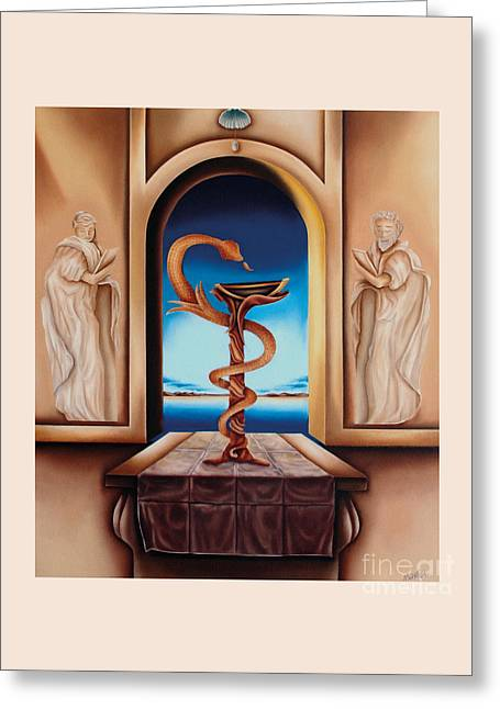Surreal The Physician Greeting Card