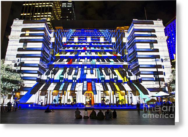 The Piano - Customs House - Sydney Greeting Card