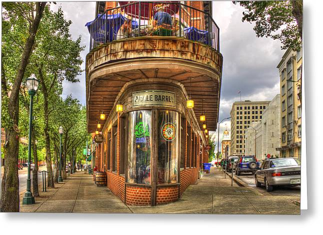 The Pickle Barrel Too Chattanooga Tennessee Greeting Card