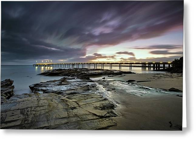 The Pier @ Lorne Greeting Card