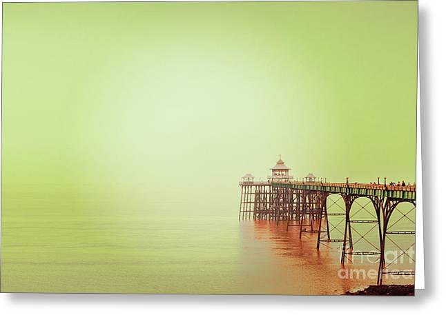 The Pier 2 Greeting Card by Colin and Linda McKie