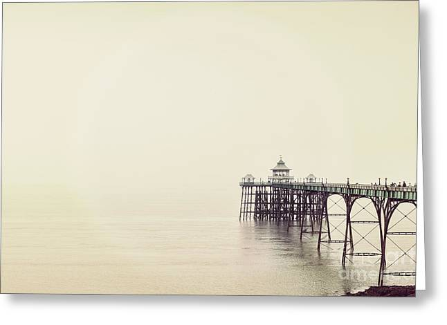 The Pier Greeting Card by Colin and Linda McKie