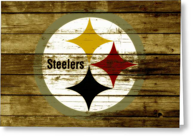 The Pittsburgh Steelers W4 Greeting Card