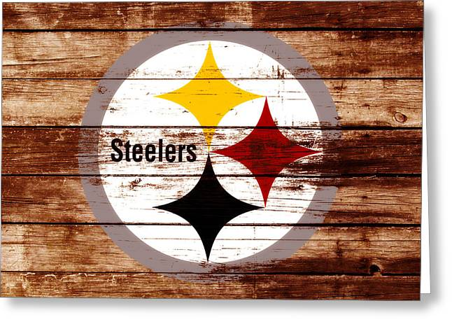 The Pittsburgh Steelers W5 Greeting Card