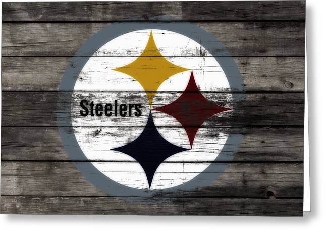 The Pittsburgh Steelers W6 Greeting Card